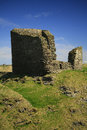 Castle of old wick caithness scotland uk the is on the coast about km south europe this ruin is the best preserved norse Stock Photography