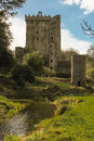 Castle originally dates top castle lies stone eloquence better known as blarney stone tourists kiss stone which said to give gift Stock Photography