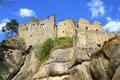 Castle in Oybin Royalty Free Stock Photo