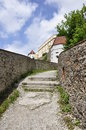 Castle in passau bavaria germany may Stock Photo