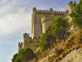 Castle Penafiel, Spain Royalty Free Stock Photography