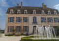 Castle of pommard the burgundy france Royalty Free Stock Photography