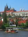 Castle of Prague Royalty Free Stock Photo