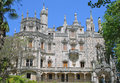 Castle in Quinta da Regaleira Royalty Free Stock Photography