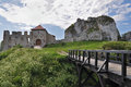 Castle in Rabsztyn Royalty Free Stock Photos