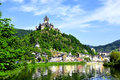 Castle Reichsburg Royalty Free Stock Photo
