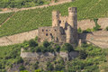 Castle rheinstein rhine valley germa Royalty Free Stock Image