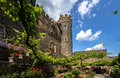 Castle rheinstein rhine valley germa Stock Image