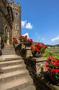 Castle rheinstein rhine valley germa Royalty Free Stock Photo