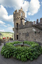 Castle rheinstein rhine valley germa Royalty Free Stock Images