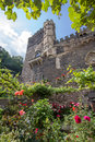 Castle rheinstein rhine valley germa Stock Photography