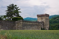 Castle of Riva. Ponte dell'Olio. Emilia-Romagna. Italy. Stock Images