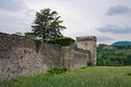 Castle of Riva. Ponte dell'Olio. Emilia-Romagna. Italy. Royalty Free Stock Photos