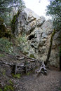 Castle Rock California rock climbing area Royalty Free Stock Photo