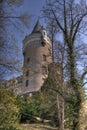 Castle romantic Στοκ εικόνα με δικαίωμα ελεύθερης χρήσης