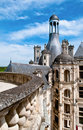 On the Castle Roof Royalty Free Stock Photography