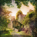 Castle ruin Royalty Free Stock Photo