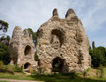 Castle ruins Stock Photography
