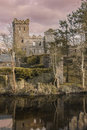 Castle ruins. Macroom. Ireland Royalty Free Stock Photo