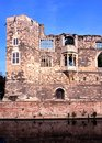 Castle ruins newark england alongside the river trent nottinghamshire uk western europe Royalty Free Stock Images