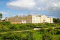 Castle rundale latvia view of in the summer Stock Photography