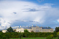 Castle rundale latvia view of in the summer Royalty Free Stock Photo