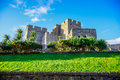The Castle Rushen in the Isle of Man Royalty Free Stock Photo