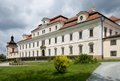 Castle rychnov nad kneznou czech republic in eastern bohemia Royalty Free Stock Image
