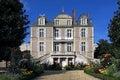 Castle sainte gemmes sur loire loire valley france region pays de la danjou department maine et village former Stock Photo
