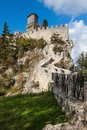 Castle in San Marino Royalty Free Stock Image