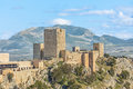 Castle Of Santa Catalina In Jaen