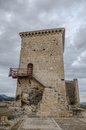 Castle of santa gadea del cid in burgos spain Stock Photography