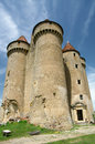 Castle of Sarzay Royalty Free Stock Photography