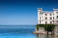 Castle on the Sea Royalty Free Stock Images