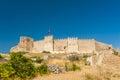 Castle at selcuk ancient roman on ayasoluk hill turkey Stock Photos