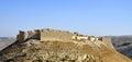 Castle Shobak in Jordan. Royalty Free Stock Photo