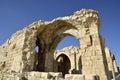 Castle Shobak old ruins. Royalty Free Stock Photo