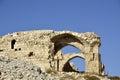 Castle Shobak ruins. Royalty Free Stock Photo