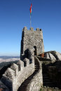 Castle, Sintra, Portugal Royalty Free Stock Photos