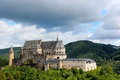 Castle situated in Vianden, Luxembourg , Europe Royalty Free Stock Photo