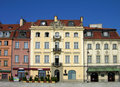 Castle Square, Warsaw, Poland Royalty Free Stock Photography