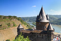 Castle Stahleck above the rhine valley Royalty Free Stock Photo