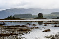 Castle stalker scotland uk th century tower house argyll Stock Images