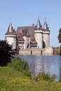 Castle sully loire loiret Stock Photos
