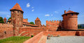 Castle of Teutonic Knights Order in Malbork, Poland Royalty Free Stock Photo