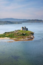 Castle Tioram, Lochaber, Highlands, Scotland Royalty Free Stock Photo