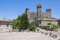 Castle of Torre Alfina. Lazio. Stock Photos