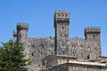 Castle of Torre Alfina. Lazio. Italy. Royalty Free Stock Images