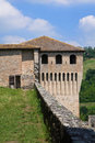 Castle of Torrechiara. Emilia-Romagna. Italy. Stock Photography