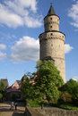 Castle tower in Germany Royalty Free Stock Photo